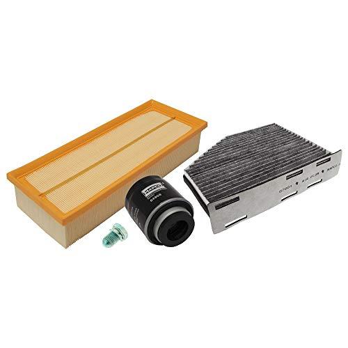 Mapco 68910 Paquet d'inspection Kit filtre à huile Filtre à air Filtre à pollen vidange