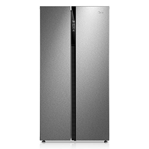 Midea KS 7.2 Side-by-Side Kühl-gefrierkombination/A++/178,8 cm/329 kWh/Jahr/335L Kühlteil/175 L Gefrierteil/No Frost/AllAround Cooling/Super Mode