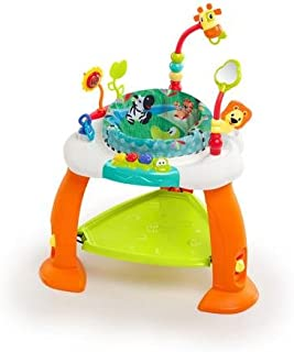 Bright Starts Bounce Bounce Baby Includes Tree Mirror with Ratcheting Lion Toy