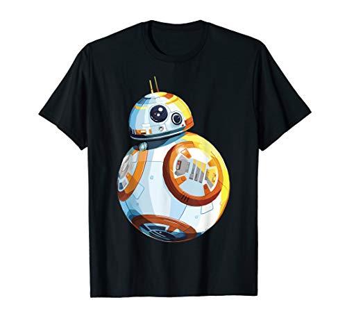 Star Wars The Force Awakens BB-8 Detailed Portrait T-Shirt