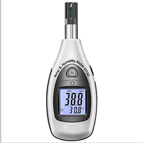 Digital Psicrometro palmare termometro con Ampio Display LCD Reminder MIN/Max Records Batteria scarica for Laboratorio Magazzino