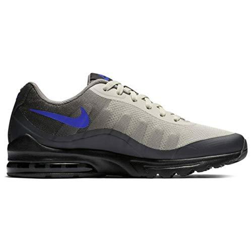 Nike Air Max Invigor, Scarpe da Basket Uomo, Black/Racer Blue-Anthracite, 40.5 EU