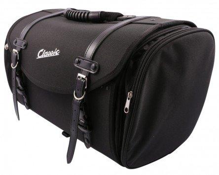 Tasche/Koffer SIP groß, für Gepäckträger, 480x300x270mm, ca. 35 Liter, Nylon, schwarz