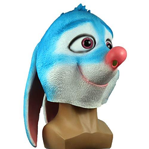 IHZ Mscara de Bandicoot de Oreja de Conejo Animal Lindo, mscara de Anime, mscara de Bandicoot de Oreja de Conejo Linda
