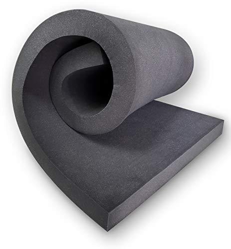 "30"" X 82"" Upholstery Rubber Foam Sheet Cushion (Seat Replacement, Foam Padding) USA Made NF33 (3"" x 30"" x 82"" Rubber Foam Sheet)"