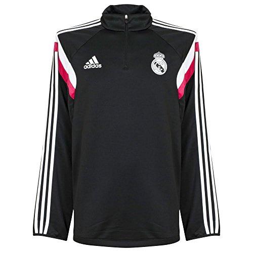 Adidas–Camiseta de entrenamiento del Real Madrid 2014/15, negro, XXL