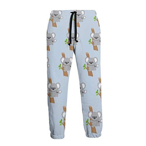 GAHAHA Jogginghose für Herren, niedlich, Australien, Koalas, Jogginghose, Sporthose, mit Taschen, Unisex