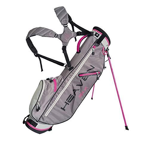 Big Max Golf Standbag Heaven SIX Charcoal-Silver-Fuchsia