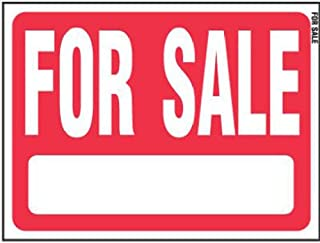 Hy-Ko RS-604, Red Sale Plastic Lawn Sign, 18