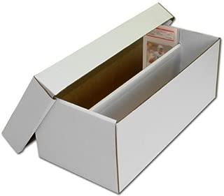 (1) BCW Brand Trading Card Cardboard Graded Shoe Box - GSB