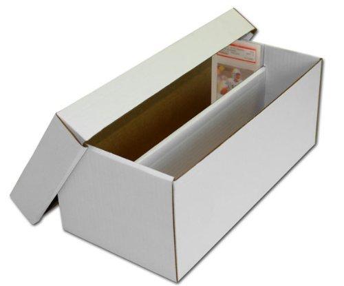 (1) BCW Brand Trading Card Cardboard Graded Shoe Box - GSB by BCW