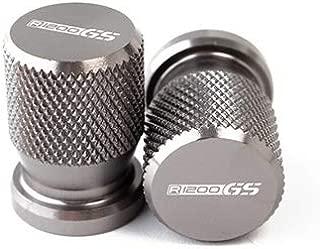 Hehilark 4 Pcs Compact en Aluminium De Voiture Camion Moto V/élo Pneu Pneu Jantes Air Valve Tiges Bouchons Couverture Pneus Accessoires