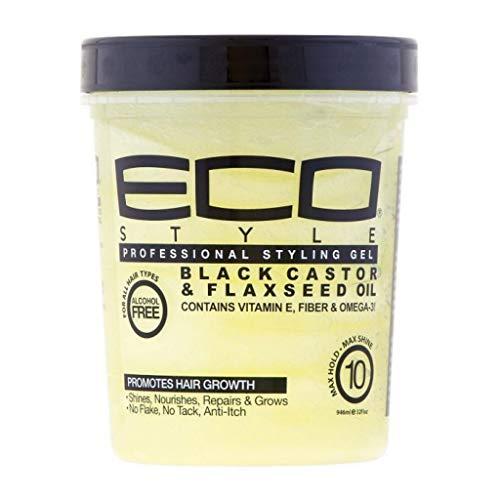Eco Styler Styling Gel Black Castor 32Oz/946 ml