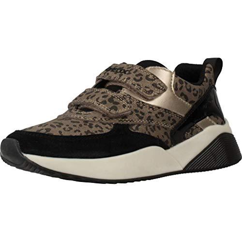 Geox Sportschuhe für Mädchen J949TB 00422 J Sinead C2016 DK Gold Schuhgröße 30