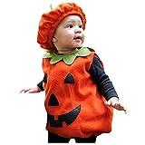OverDose Producto Bebé Otoño Invierno Romper Halloween Bebé Niños Niñas...