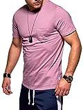 Jack & Jones Noos - Camiseta de manga corta para hombre, cuello redondo, con bolsillo Herramienta para tostar. S