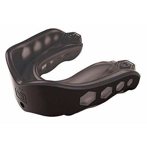 Shock Doctor Gel-Max-Mundschutz für Schutz beim Sport, bequemes dreilagiges Design in Größen für Kinder und Erwachsene