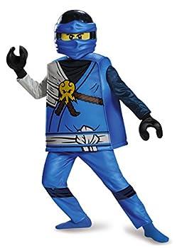 Disguise Jay Deluxe Ninjago Lego Costume Large/10-12