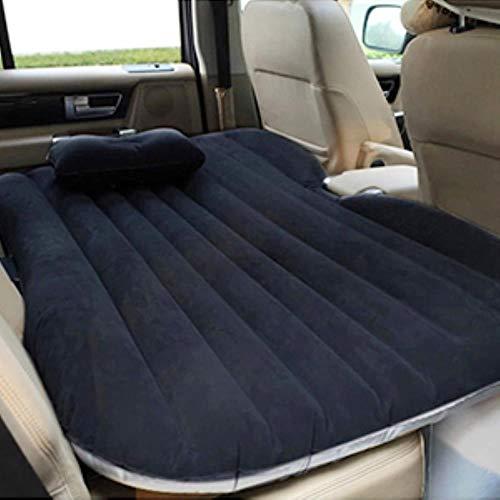 2020 - Colchón hinchable, cama universal para sofá, cojín de asiento trasero, multifuncional, para camping al aire libre, color negro