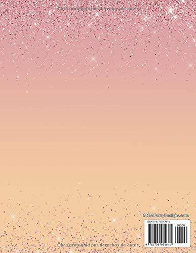 Planificador y Agenda de Mis Quince Anos: Organizador y Cuaderno de Quinceañera Confeti Rosado, Blanco, y Zapatilla Floral