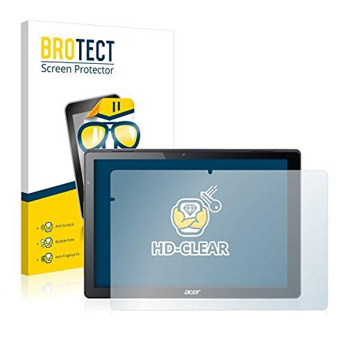 brotect Pellicola Protettiva Compatibile con Acer Switch Alpha 12 Pellicola Trasparente (2 Pezzi) Anti-Impronte