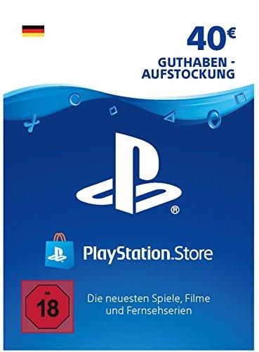 PSN Guthaben-Aufstockung | 40 EUR | deutsches Konto | PSN Download Code