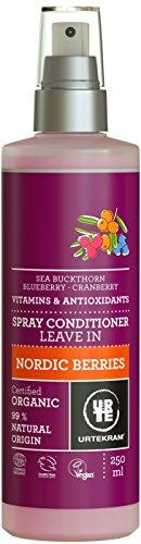 Urtekram Nordic Berries Leave-In Spray Conditioner, Organic, 2er Pack(2 x 250 ml)