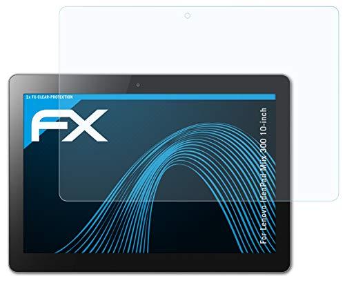 atFolix Schutzfolie kompatibel mit Lenovo IdeaPad Miix 300 10-inch Folie, ultraklare FX Bildschirmschutzfolie (2X)