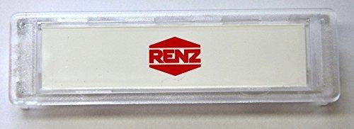 Namenschild Renz 75 x 22 mm, 07-112 10er Pack