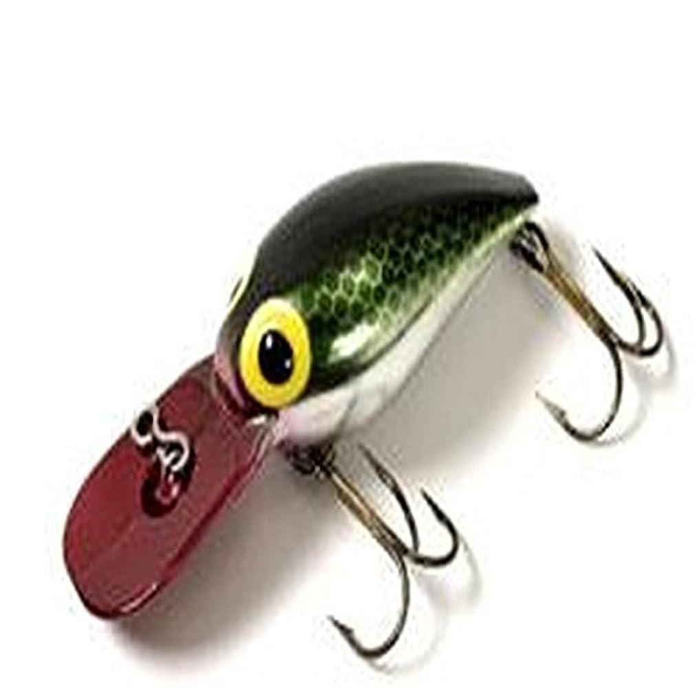 B.S. Fish Tales Wee Wiggler Pirate Fishing Lure, Green