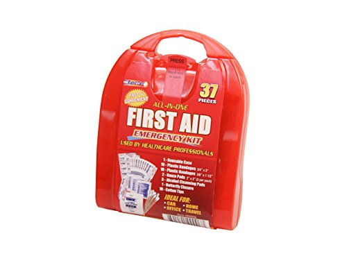 Rapid Care First Aid CD-80006 37 Piece Travel First Aid Kit