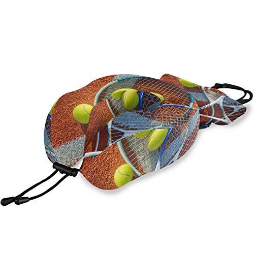 Ghypt - Almohada de cuello tipo U para raqueta de tenis, espuma viscoelástica, cómoda, portátil, para viajes, oficina o avión