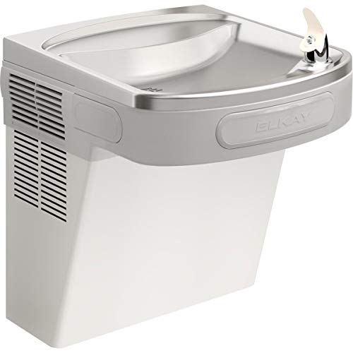 ADA Barrier Free Water Cooler, Stainless Steel, Wall Hung, 115V, 60Hz, 5 Amps