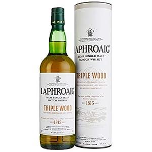Laphroaig Triple Wood Islay Single Malt Scotch Whisky, mit Geschenkverpackung, einzigartig torfig-rauchig mit leichter…