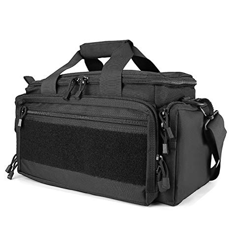 Polaland Tactical Gun Range Bag Pistol Shooting Duffle Bag, Deluxe Padded Shooting Range...