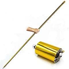 This Cane Is Made From Metal, So It Is Even More Impressive When Appears In The Blink Of An Eye This Cane Is Color-Painted, So It Easily Attracts Audience's Attention! Easy To Learn and Master This Magic Trick Coming With Online Video Tutorial, You W...