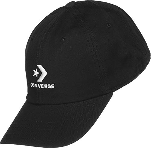 Converse Cap Boina, Negro (Black 10008477-A01), Talla única Unisex Adulto