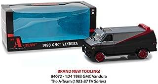 New DIECAST Toys CAR Greenlight 1:24 Hollywood - The A-Team - 1983 GMC VANDURA 84072