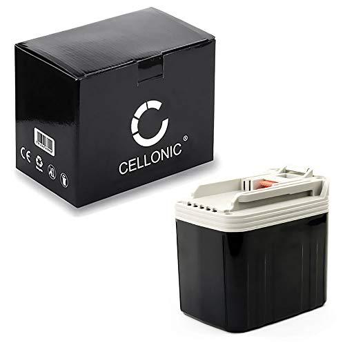 CELLONIC® Premium Akku (24V, 3.3Ah, NiMH) kompatibel mit Makita BDF460 / BHP460 / BHR200 / BJR240 / BLS820 / BML240 / BSR730 / BTD200 - BH2420, BH2433, B2417 Ersatzakku Batterie Werkzeugakku