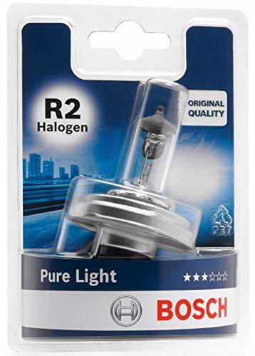 Bosch Lámpara para faros: Pure Light R2 Halógena 12V 45/40W P45t (Lámpara x1)