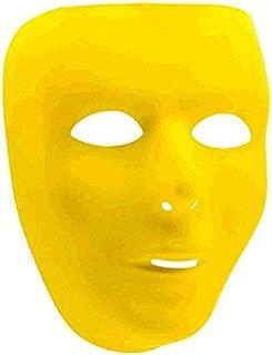yellow full face mask