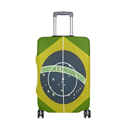 Montoj, copertura per valigia, motivo: stadio di calcio del Brasile
