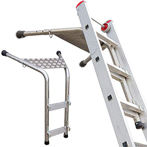 Faraone - Accesorio para Escaleras - Distanciador de Pared EN.SP - 100 x 100 x 10 cm - Ideal para Salvar Obstáculos en Fachadas - Fabricado en Aluminio - Resistente y Duradero