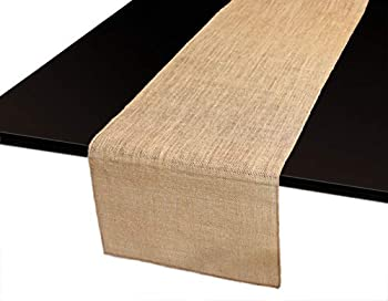 Home·FSN Burlap Table Runner 100% Jute Vintage 14X72 Inches Table Runner for Wedding Parties BBQ s Everyday Holidays