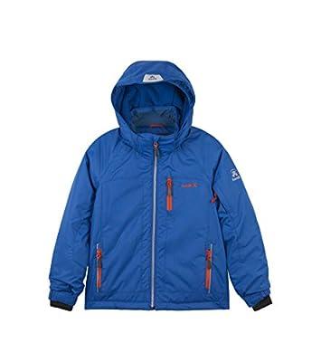 Kamik Winter Apparel Boys Rusty Solid Insulated Jacket, Blue, 4