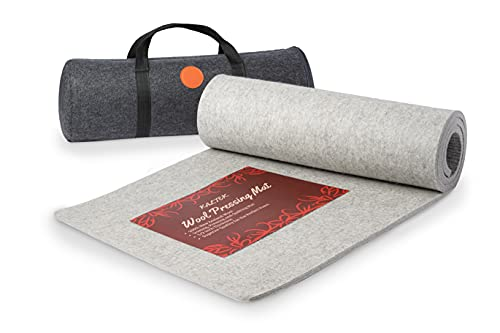 Wool Pressing Mat, Extra Large 22' X 60' Pressing Mat for Quilting 100% New Zealand Wool Ironing Pad for Quilters