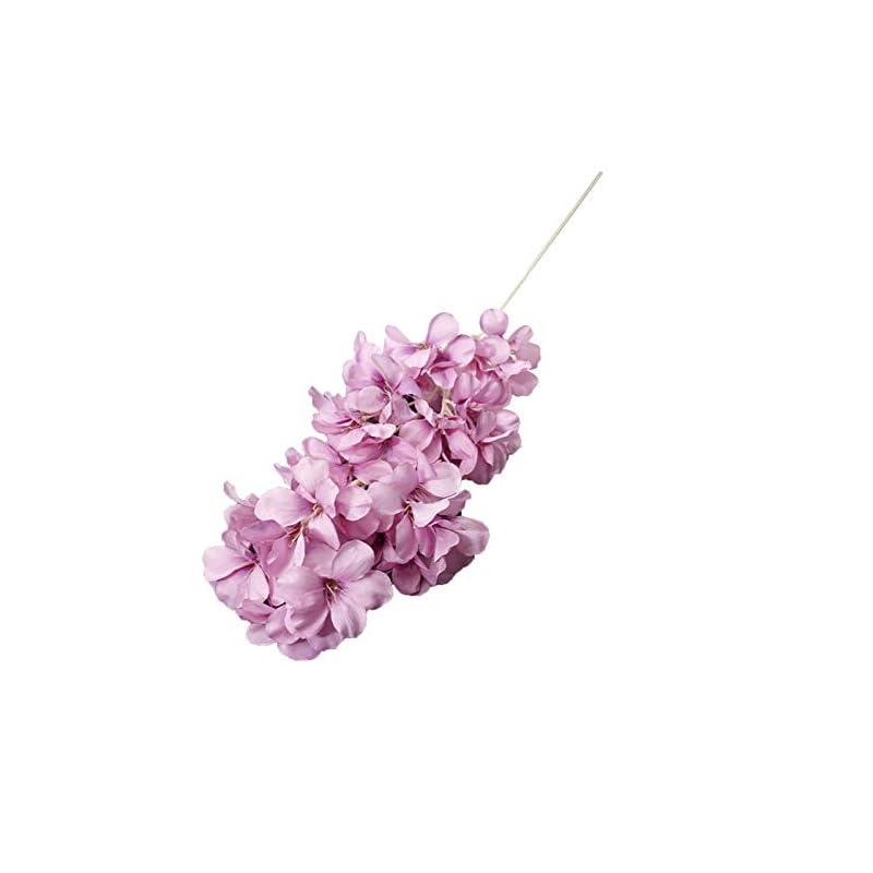 silk flower arrangements minso artificial flower,fake frangipani flower simulation photo props home hall wedding decor for women purple