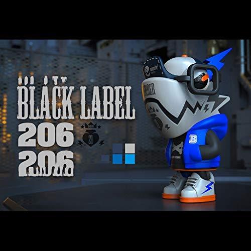 LRWTY POP Figur!Black Label Chameleon (Bomber) VOL.6 Auto-Dekoration PVC-Action-Figur Spielzeug/Haus-Auto-Dekor/Sammlung Figuren Geschenke for Dekoration 3.9