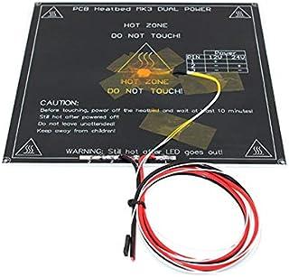 اكسسوارات الطابعة قطع الطابعة ثلاثية الأبعاد MK3 الحرارة مزدوجة الطاقة ساخنة + ليد + مقاومة + كابل+ 100K أوم الحرارة سرير PCB