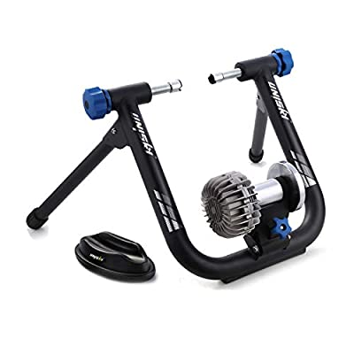 unisky Fluid Bike Trainer Stand Indoor Exercise Bicycle Training Stand Mountain & Road Bike Flywheel Stand